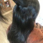 縮毛矯正とトリートメントの中間メニュー【ホットミルク】はこんな方にオススメ!!お客様の施術例を交えて自由が丘髪質改善美容師がお伝えします。