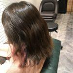 デジタルパーマを自然なストレートにしたい。インナーカラーも入った髪を髪質改善縮毛矯正でお悩み解決。自由が丘で髪の悩みはtecco.まで♪