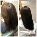 【自由が丘で髪質改善縮毛矯正】細くダメージのしやすい髪への縮毛矯正。