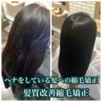 ヘナをしている髪でも縮毛矯正はかけれます!ヘナのメリットとデメリット。ヘナ髪質改善特化サロンの髪質改善縮毛矯正。自由が丘tecco.